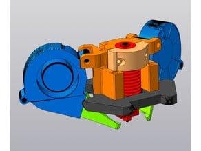 Effector Cheburashka for Anycubic Kossel V6