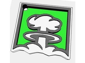 Nuke - Keychain (Rainbow Six Siege-Style)