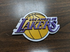 LosAngeles Lakers - Logo -Multicolor