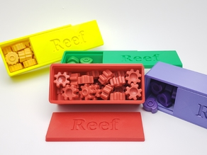 Reef board game token box