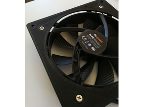 PC Fan Adapter 120mm to 140mm