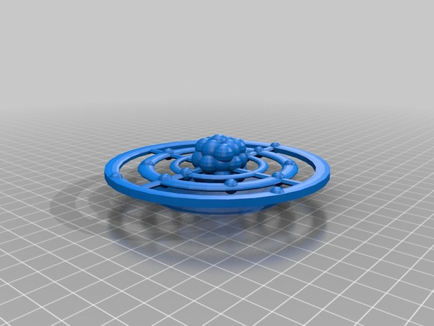 Aluminum Bohr Model By Epicelrod Thingiverse