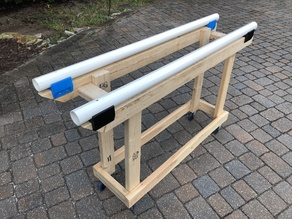 "2"" PVC 2x4 Support"