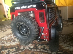TRX4 Defender Spare Tire mount