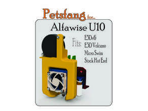 Petsfang Duct for Alfawise U10