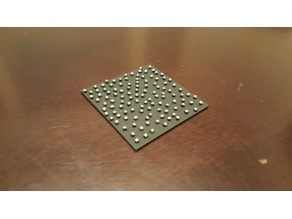 D&D 50mm ball bearings tile