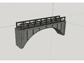 HO Scale Train Bridge V2.0