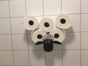 Toilet paper holder (Shaun)