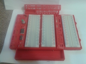 EE Electrical Breadboard Modular Controls Lab  Portable WorkBench - Kit Parts