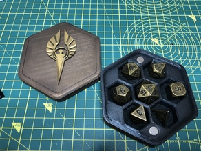 Pathfinder Sarenrae Dice Box