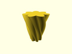 Flower Petal Vase, Pen / Flower Pot Customizable Creator