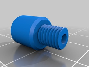 3D printed bowden tube coupling