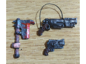 weapons for 28mm skirmish wargame