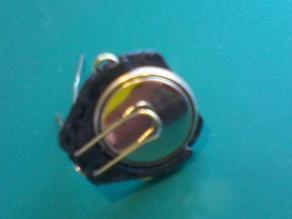 Button Battery Holder