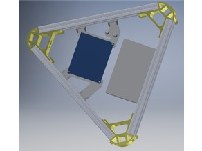 DUET support for kossel (250mm bed)