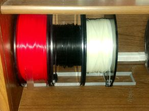 Filament Storage for China Cabinet