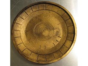 Skyrim Inspired Dwemer Plate Catchall Tray