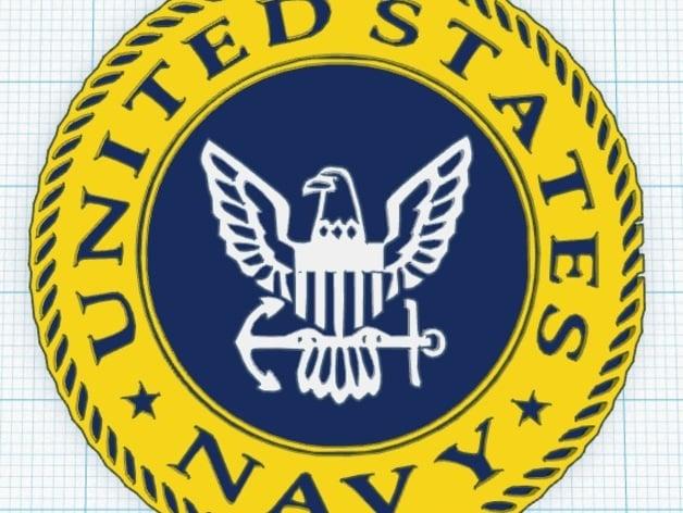 Us Navy Logo By Ukcat Thingiverse