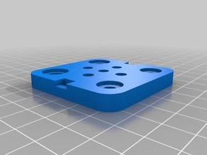 Micro/Mini V Wheel Plate from OpenBuilds with Solidworks 2014 Source