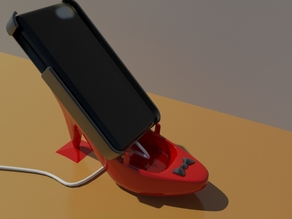 smartphone holder heels v6