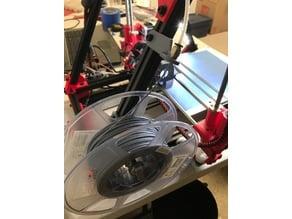 Side spool mount