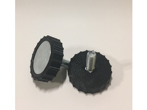 1/4in Elevator Bolt Thumb Wheel