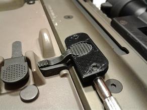 Airsoft SCAR Platform Lever Bolt Catch Release