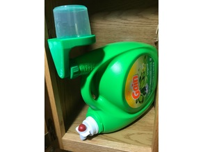 Laundry Detergent Cup Drain