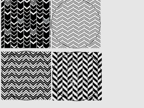 Chevron Coasters