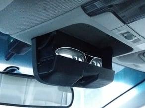 Subaru Legacy extended sunglasses holder