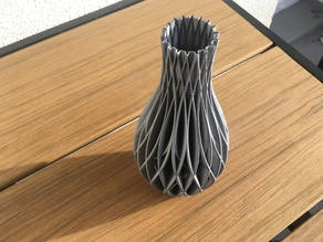 Spiral Vase - Wave decor