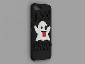 Emoji Ghost iPhone 8 case.