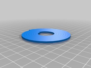 Archimedean Spiral Ring Coaster