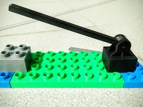 LEGO Duplo barrier (gate)