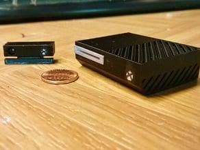 Mini Microsoft Xbox One with Kinect