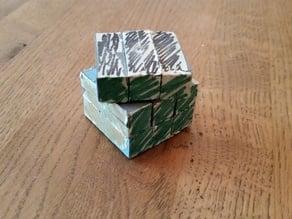 Cubic Floppy Cube - A Simple Twisty Puzzle