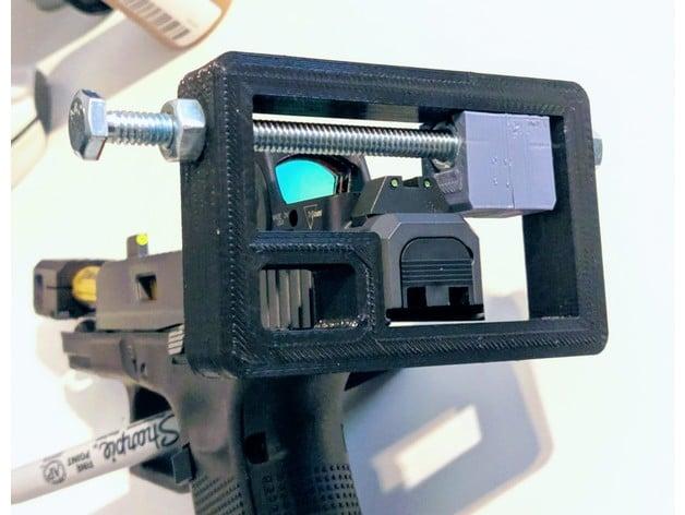 Glock Sight Pusher Installation Tool for Suppressor Height