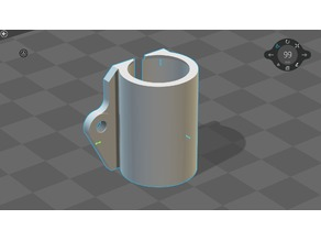LM8uu holder (flush with Axis)