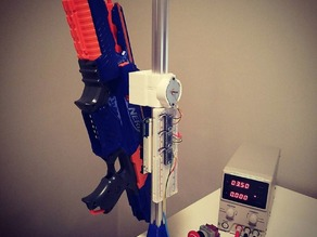 video conferencing robotic nerf gun turret
