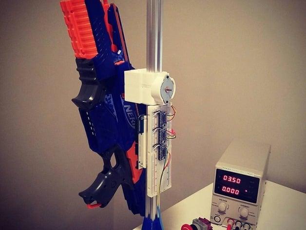video conferencing robotic nerf gun turret by edison_vs_tesla - Thingiverse