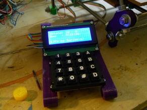 Keypad/LCD Mounting Bracket