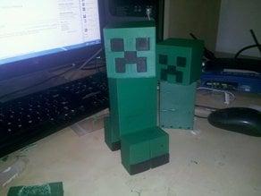 Parametric Minecraft - Creeper