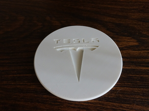 Tesla Logo Coaster