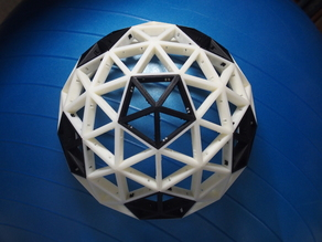 Geodesic dome 3V Assembly type