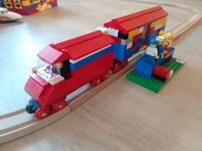 Lego Brio train wheel set