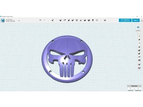 Punisher Speaker Grill