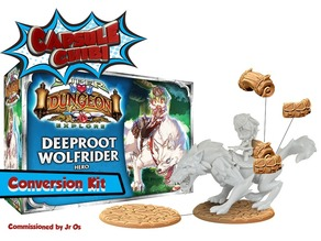 Super Dungeon Deeproot Wolfrider Conversion Kit