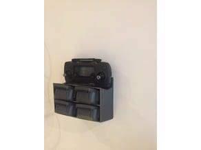 Dji-pro wall Batteri and Control holder