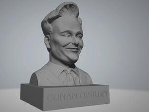 Conan O'Brien bust