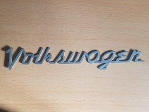 vw vintage logo